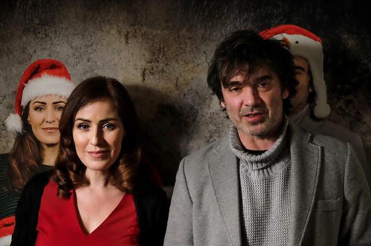 Soňa s filmovým manželem Pavlem Řezníčkem