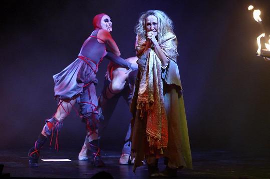 Bára si roli Johanky ale ještě občas zazpívá.
