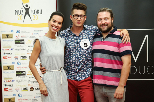 S Radkou Pavlovčinovou byl patronem tohoto soutěžícího.