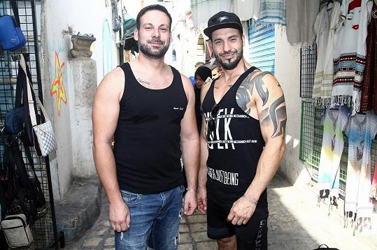 Vašek s bratrem Štěpánem