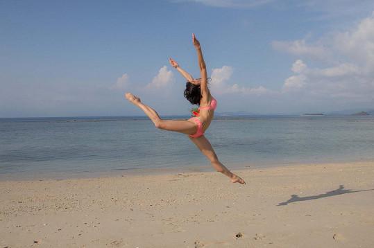 Lili na dovolené na Bali