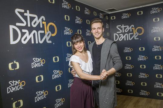 Veronika Kubařová a Dominik Vodička jsou dalším párem, který si zatančí ve StarDance.