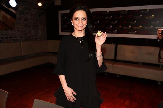 Lucie Bílá má vlastní medaili.