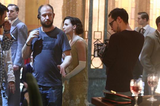 Veronika během natáčení třetí řady