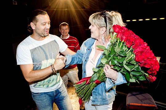Popřál jí i Ruda z Ostravy či režisér Radek Balaš.