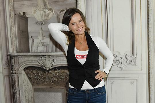 Olga se po svých zkušenostech ve sportu věnuje zdravé výživě.