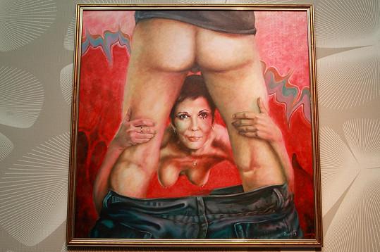 O obraz Pavla Kremla byl velký zájem.