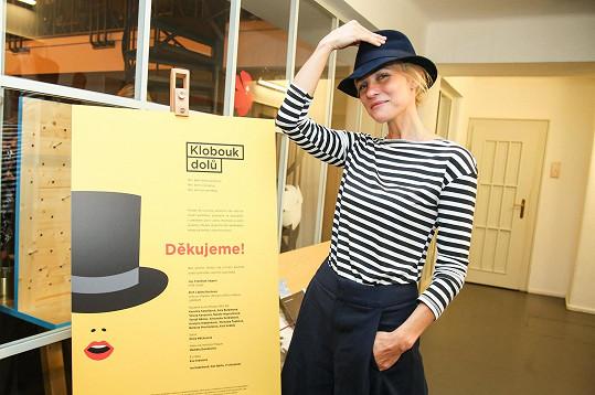 Akci svou přítomností podpořila například modelka Martina Šmuková.