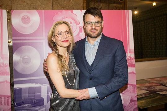 Petr Klein Svoboda s manželkou