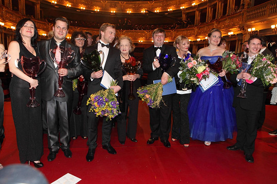 Sestava oceněných divadelníků