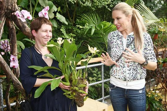 Simona Krainová si návštěvu skleníku Fata Morgana užila, a proto se chce s trojskou botanickou zahradou více seznámit.