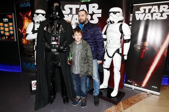 Ruda s Alexem vyrazil na premiéru Star Wars.