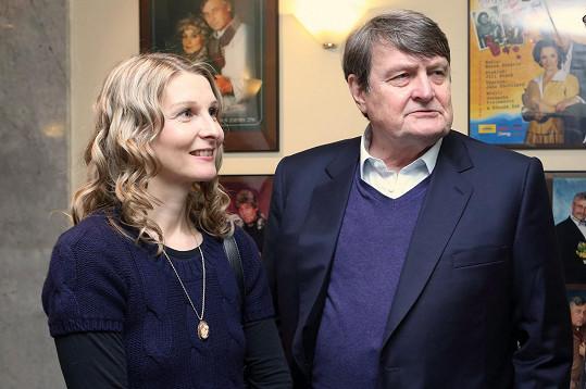 Ladislav Štaidl s partnerkou Míšou