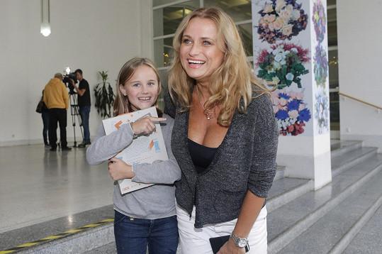 Jana Adamcová s dcerou Jasmínou