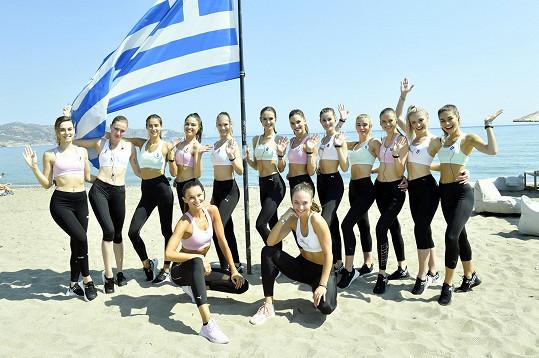 Užívají si na soustředění v Řecku na Krétě.