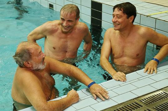 Filmovalo se v litoměřickém bazénu.