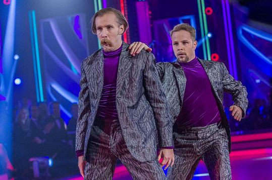 Marek Zelinka a Jan Onder si zatančili ve StarDance.