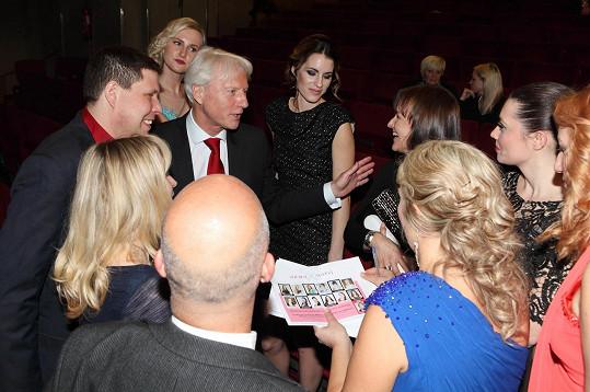 Špaček měl v Souboji nevěst roli porotce.