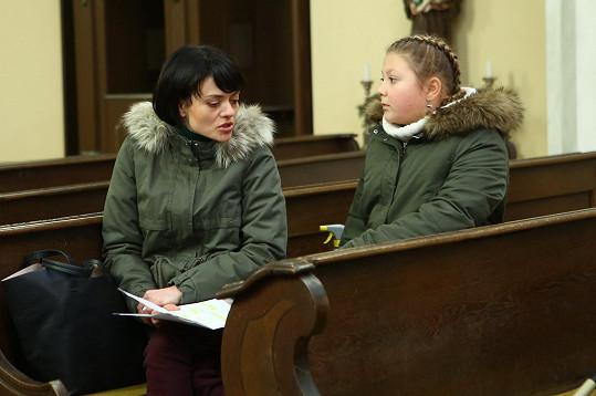 Se svou seriálovou maminkou Janou Strykovou