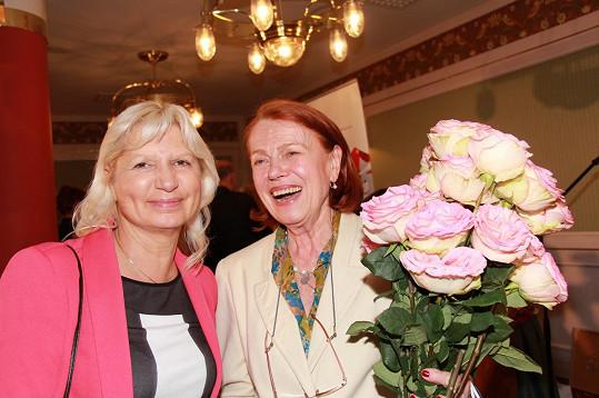 Gratulaci přijala také od své dvorní estetické lékařky Ivany Němečkové.
