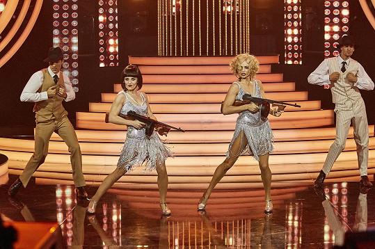 Do užšího finále se neprobojovaly, ale i tak předvedly skvělé vystoupení.