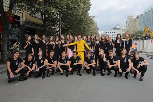 Denisa Dvořáková byla ambasadorkou letošního ročníku.