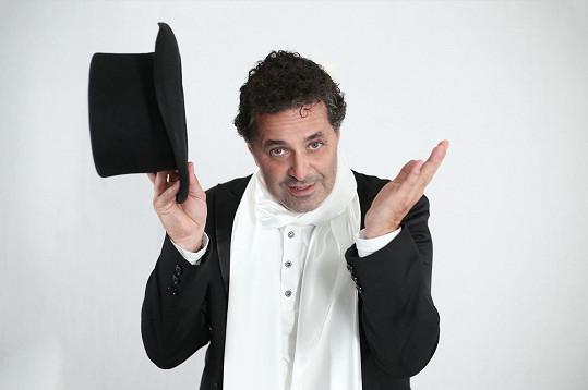 Martin Dejdar si zahraje hraběte Lenského.