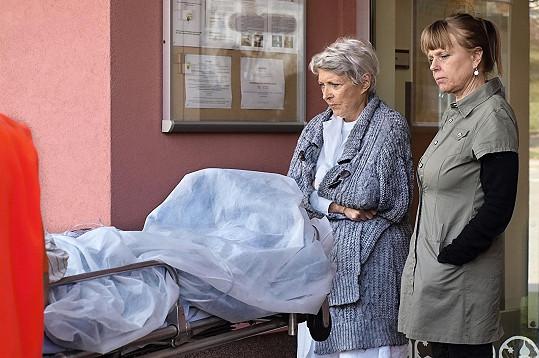 Lenka Kořínková a Jana Štěpánková si společně zahrály v novém seriálu.
