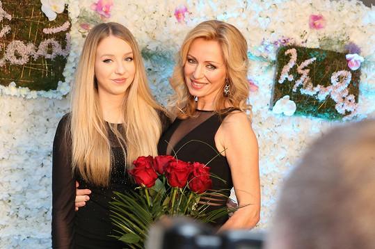 Kateřina Brožová s dcerou Kačkou
