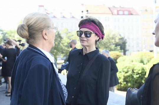 Simona Postlerová (vpravo)