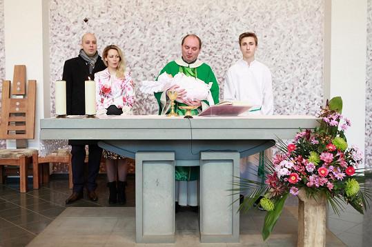 Obřad v kostele sv. Terezie