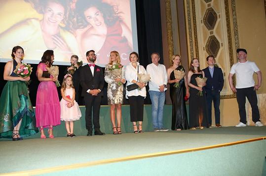 Filmová delegace v kině Lucerna