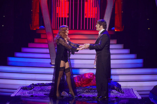 Jitka se v show předvedla ve svůdném kostýmu.