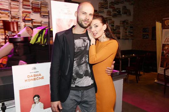 Dasha s partnerem Ondřejem