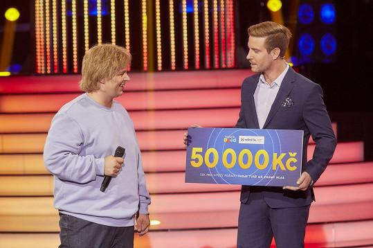 Martin vyhrál třetí díl Tváře.