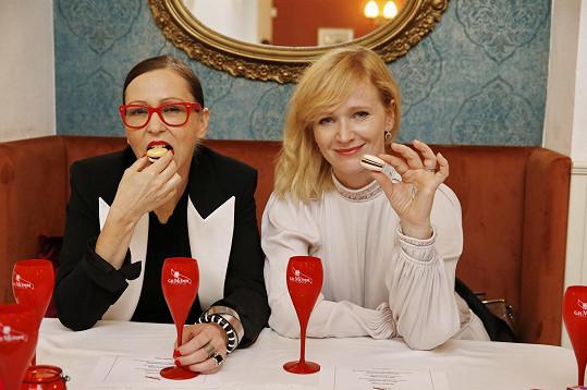 S kolegyní Zuzanou Stivínovou nejen ochutnávaly...