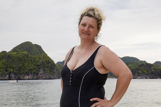 Paní Iveta vyrazila na Filipíny.