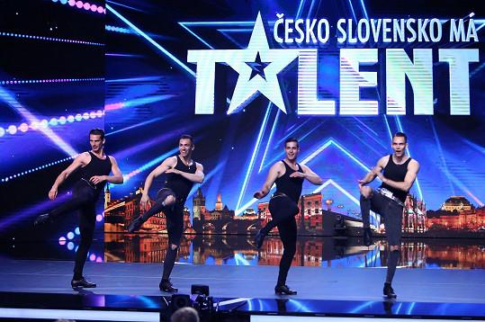 Fricska Dance Group jsou čtyři maďarští tanečníci, kteří svou energií a synchronizací okouzlili celý sál.