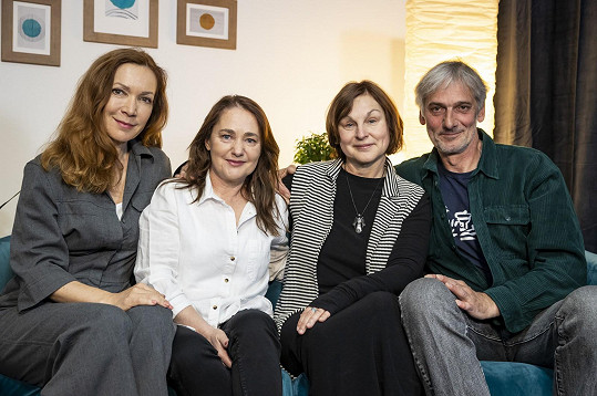 Stanislava Jachnická, Miriam Chytilová, Pavla Rychlá a Daniel Rous