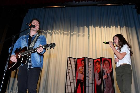 S Pavlem zpívali duet Propojení.