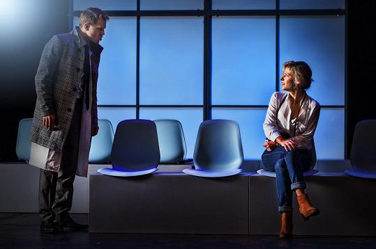 Jitka si v představení zahraje s Pavlem Baťkem.