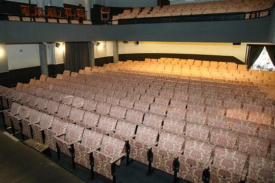 Hlediště Divadla Lucie Bílé