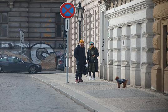 Orlando Bloom a Katy Perry v Praze