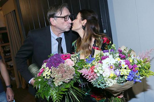 Slavila společně s kolegou Ondřejem Pavelkou.