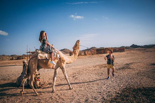 Milan Peroutka natáčel svůj nový klip v Egyptě.