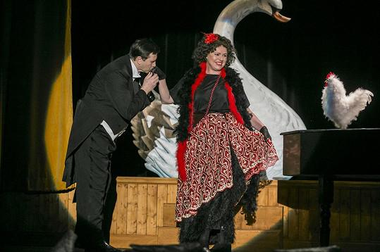 Herec připravuje nové představení, ve kterém si zahraje s Jitkou Sedláčkovou.