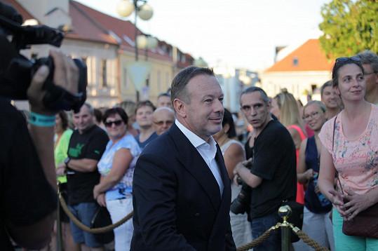 Nemohl chybět ani ředitel festivalu Michal Dvořák.