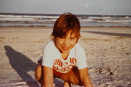 Vašek v dětství s rodiči hodně jezdil do zahraničí.