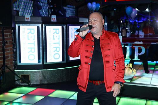Michal David je na hudební scéně už 40 let.