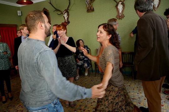 S Alenou Mihulovou by klidně tančil i ve StarDance, herečka se ale na každodenní dril necítí.